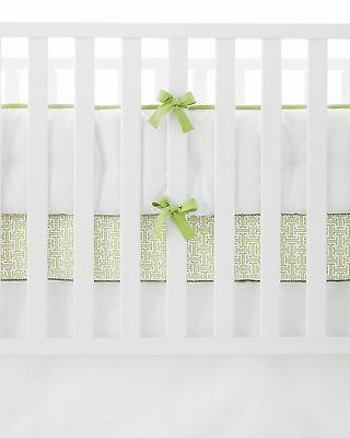 Serena And Lily Crib Bumper In  Sprout (New In Box)