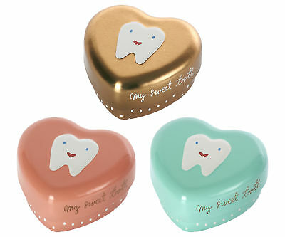 Maileg - Tooth Fairy Tin - Heart - My Sweet Tooth - 3 Colours Available