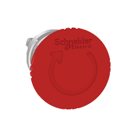 SchneiderElectric OfferComplete Emergency stop(ZB4BS844+ZB4BZ102)1NC Aux Contact