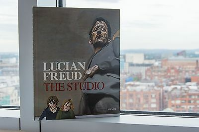 Lucian Freud The Studio. Large, Hardback Art Book.