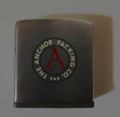 Anchor Packing antique tape measure, silver, Good condition