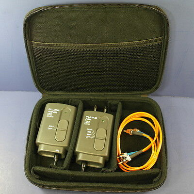 Fluke DSP FOM FOS 850/1300 1550, 1300, 850 set, Hard Case, Excellent
