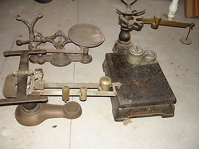 3 Antique Scales
