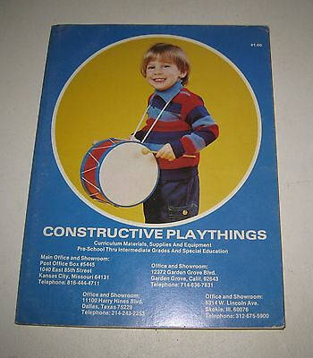 1979-1980 Constructive Playthings Playmobil & More Toy Catalog #BD89