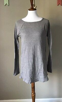 Liz Lange Maternity Long Sleeve Basic Top Medium NWT