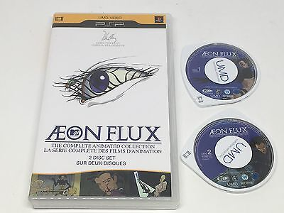 Aeon Flux - The Complete Animated Collection (UMD, 2008, 2-Disc Set)