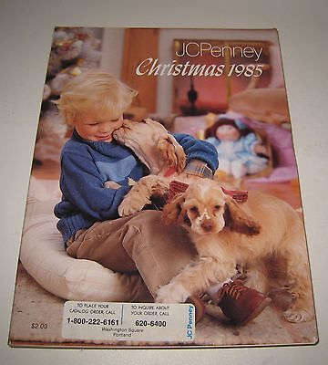 1985 JC Penny Christmas Catalog Toys Dolls Clothes & More #BD103