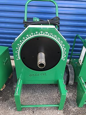 "Greenlee 555 Classic 1/2"" To 2"" Rigid Imc Shoes Conduit Bender Bending Machine"