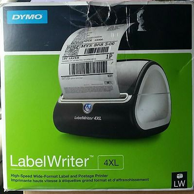 DYMO LabelWriter 4XL Thermal LABEL PRINTER NEW Free Shipping!