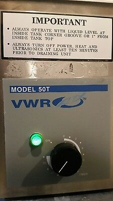 VWR  Model 50T Ultrasonic Cleaner