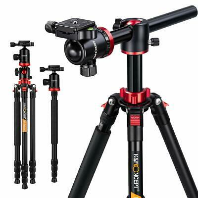 "K&F Concept Professional Tripod Monopod Ball Head 72"" TM2534T for DSLR Camera"