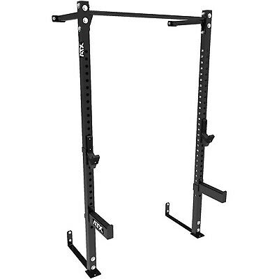 MEGATEC Wall Mounted Half Rack MT-HR-WM Squat Power Cage Bench Press Gym Fitness