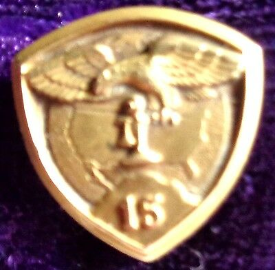 Bell System 15 Year Service Award Pin  14Kt Gold   (Item#158)