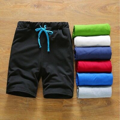 Summer Men Sport Gym Jogging Casual Shorts Pants Trousers Run Athletic Half Pant