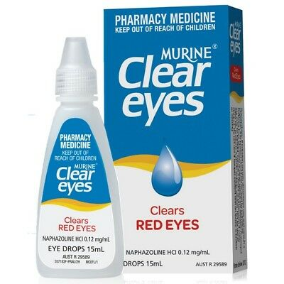 Murine Clear Eyes 15ml NEW Cincotta Chemist