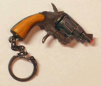 SNUB NOSE .38 SPECIAL Die Cast Metal Mini Cap Gun with 72 shots of ammo Keychain
