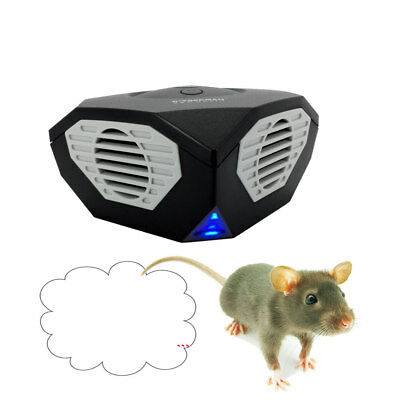 Home Ultrasonic Animal Pest Control Repellent Electronic Mouse Repeller Killer