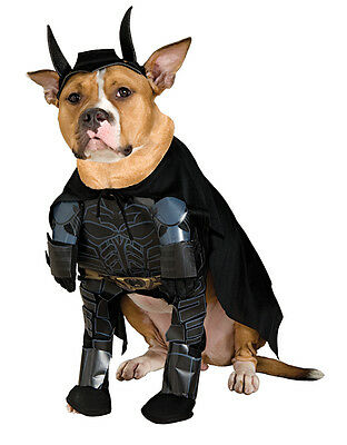 "Batman The Dark Knight Pet Costume,Medium, Neck to Tail 15"", Chest 20"""