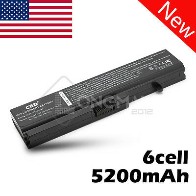 6 Cell Battery PA3780U-1BRS for Toshiba Satellite L310 L515 M300 M500 T110 T115