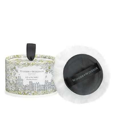 Woods Of Windsor Lily Of the Valley 100g Dusting Powder With Puff