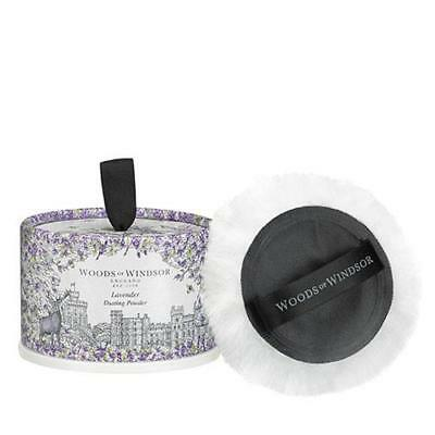 Woods Of Windsor Lavender 100g Dusting Powder With Puff