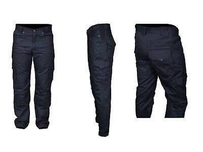 Mens Motorbike Motorcycle Denim Trousers Reinforced Padded Jean 30 to 48 waist