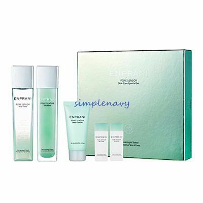 Enprani Super Aqua Capture Skin Care Special Set 2pcs First Aid Beauty Daily Face Cream Light Weight Oil Free 60ml New [Pack Of 3]