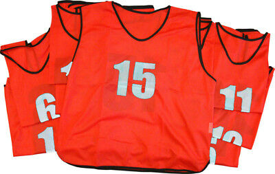 Numbered Training Bibs (Large)