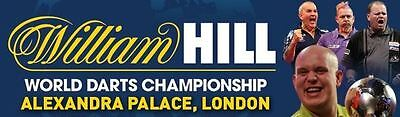 6 Tickets - William Hill World Darts Championship 2018 - Ally Pally 20.12.17