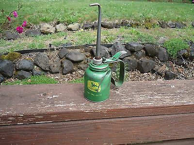 Vintage Green & Yellow John Deere Oiler Part No. JD 91