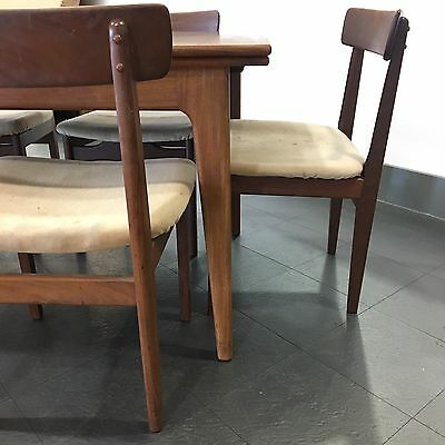 MidCentury Vintage GPlan Dining Table And Chairs