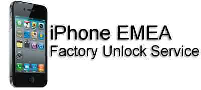 Slow Emea Unlocking Service For Clean Iphone 4, 5, 5S, 6, 6S, 7 And 7 Plus Uk