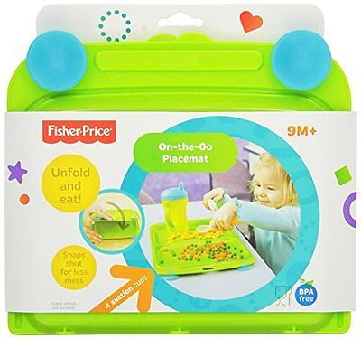 Fisher Price Kinder Teller, Platz Deckchen, Platzset, On-the-go Kindergeschirr