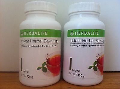 2 x Herbalife Instant Herbal Beverage Tea Concentrate New Aussie stock