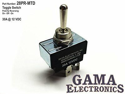 30 Amp Toggle Switch 3 Position Reverse Polarity DC Motor Control