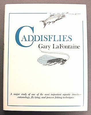 Caddisflies Book 1981 Gary LaFontaine Signed Hardcover Fly Fishing