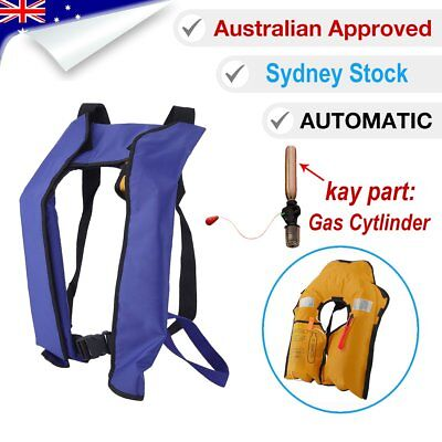 ADULT Life Jacket 150N Inflatable PFD1 Type Yoke Automatic LifeJackets Level DO