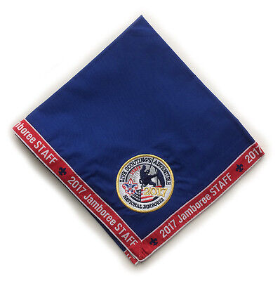2017 National Jamboree STAFF NECKERCHIEF - Boy Scout Official Participant
