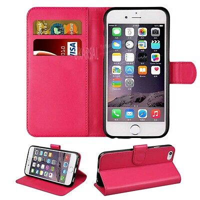 For Apple iPhone 4 4S PREMIUM Leather Magnetic Flip Cover Wallet Case {P57