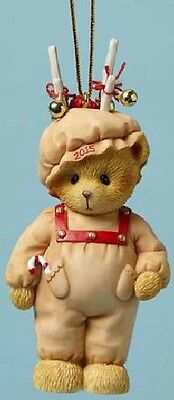 Cherished Teddies - Ready For Reindeer Games - 2015 Dated Ornament  #4047383