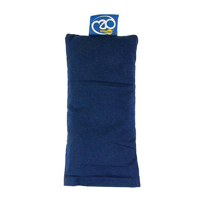 Yoga-Mad Organic Cotton Eye Pillow - Blue
