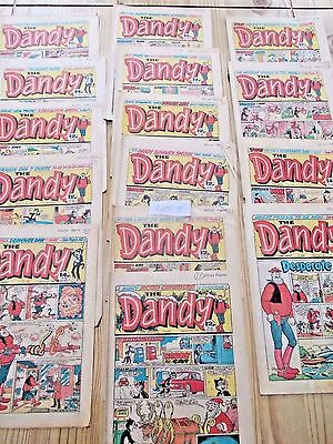 34 x BEANO and DANDY Comics Vintage 1983-1984-1985 (lot 3) & (lot 4 )