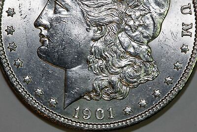 One 1901-O Mint State Morgan Silver Dollar with Original Mint Luster (SCT274)