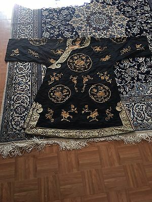 Wonderful Antiques Chinese Robe 40 In x 57 In