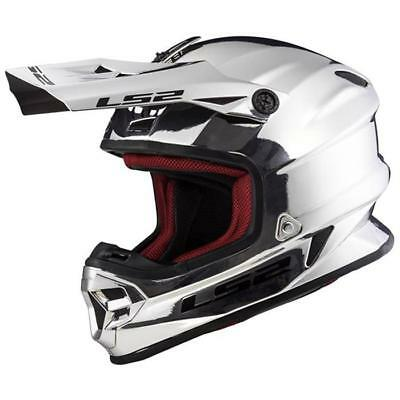 LS2 MX456 Helmet Chrome Motocross Enduro Motorcycle MX Cross Offroad Limited