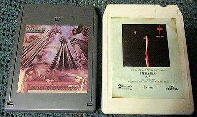 2 - Classic Rock 8 Track Tapes   Steely Dan     Tested