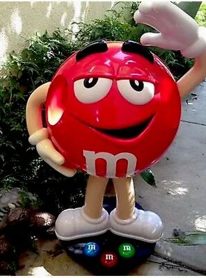 3 Ft M&m Store Display.....red