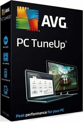 AVG PC TuneUp 2017  1 PC User for 1 Year / License Activation Key Code )