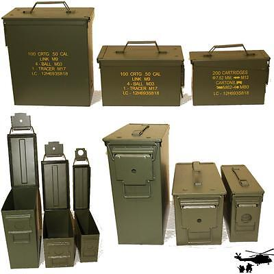 NEW Bundeswehr Ammunition Box Metal US BW Transport Box Tool Chest Box