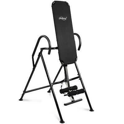 Physionics® RKTN03-1 Inversion Table in Black/Silver
